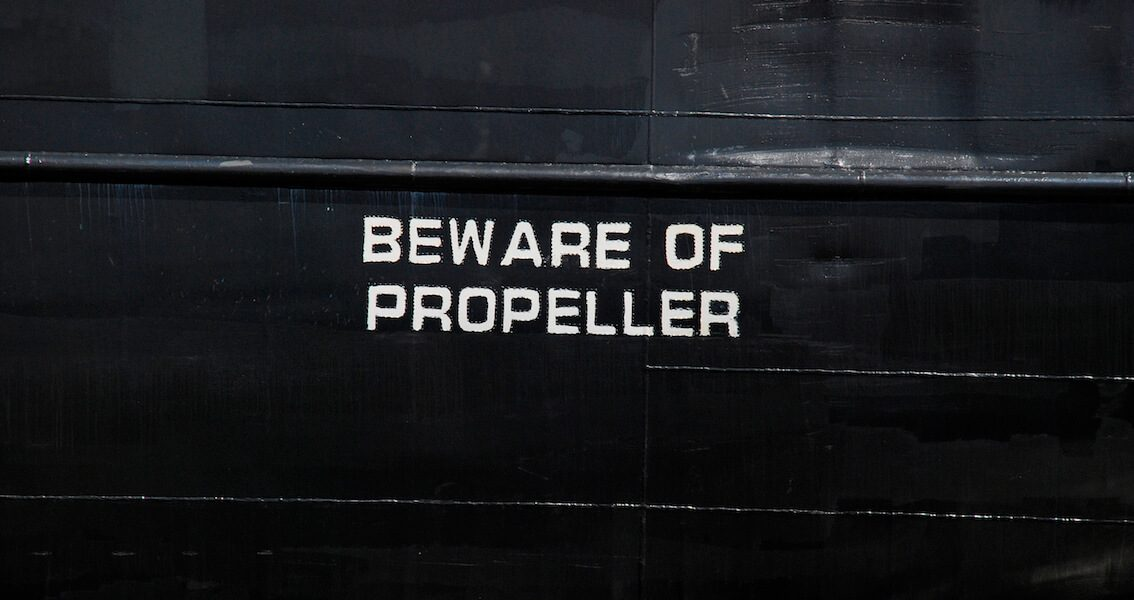 Beware Of Propeller Kopie 2